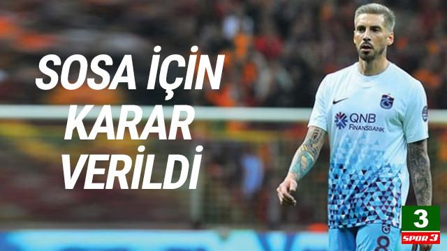 Trabzonspor'dan Sosa'ya transfer kolaylığı
