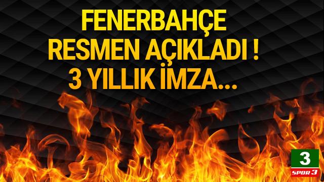 Fenerbahçe Cocu'yu resmen açıkladı