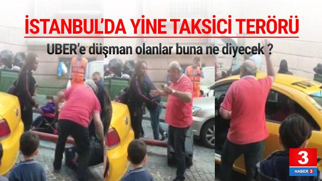 İstanbul'da yine taksici dehşeti