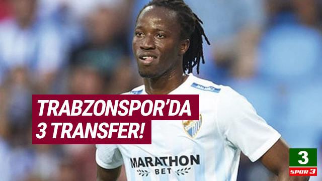 Trabzonspor'dan üç transfer birden