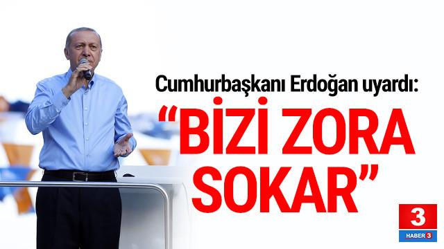 Erdoğan AK Partilileri böyle uyardı: ''Zora sokar''