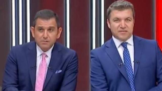Fatih Portakal ile İsmail Küçükkaya'nın yüz ifadeleri yine olay oldu
