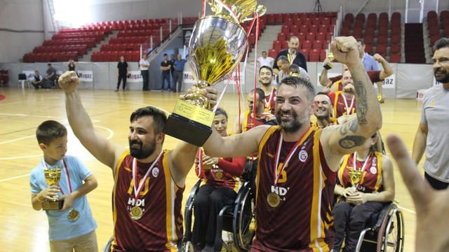 Tekerlekli sandalyede şampiyon Galatasaray !