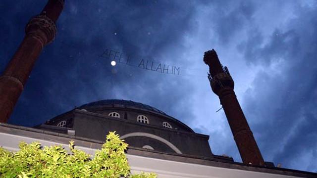 Diyarbakır'da camiye yıldırım düştü !