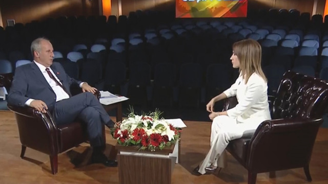 Muharrem İnce: ''Sen çıkar Erdoğan'ı konuştur''