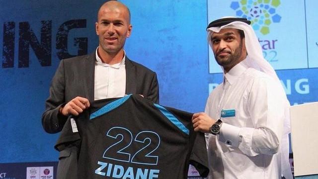Zidane Katar Milli takımında !