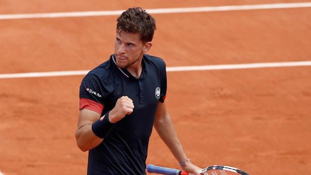 Fransa Açık'ta ilk finalist Dominic Thiem