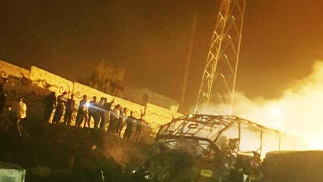 Petrol tankeri otobüs ile çarpıştı: 10 ölü