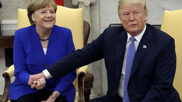 Trump'tan Almanya'ya sert sözler