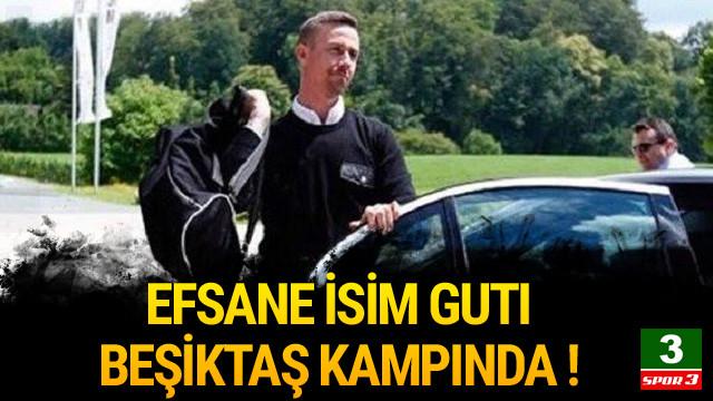 Guti Hernandez Beşiktaş kampına katıldı !