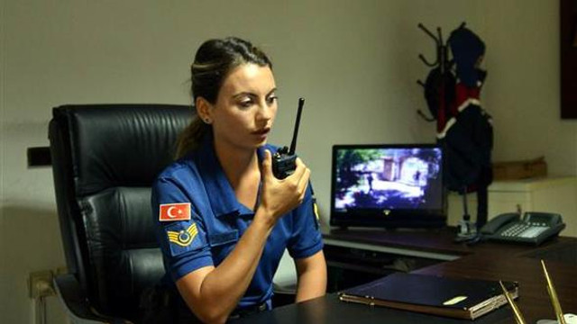 Marmaris'e kadın komutan atandı