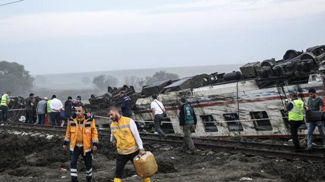 24 kişinin öldüğü tren kazasında işte makinistlerin ilk ifadesi