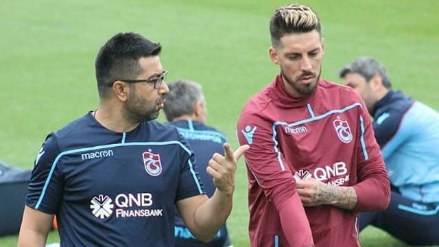Jose Sosa Trabzonspor antrenmanına katıldı