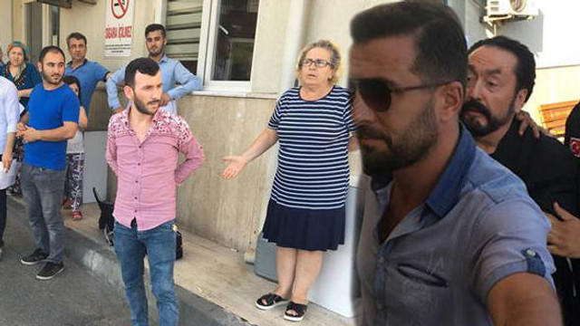 Adnan Oktar'a hastanede beddualı tepki