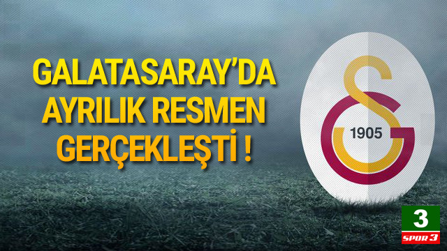 Endoğan Adili, Galatasaray'dan ayrıldı !