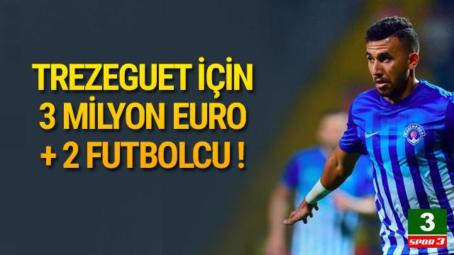 Galatasaray Trezeguet sınırları zorluyor !