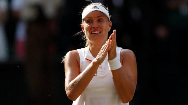 Kerber, Serena Williams'ı gözyaşlaryla devirdi !