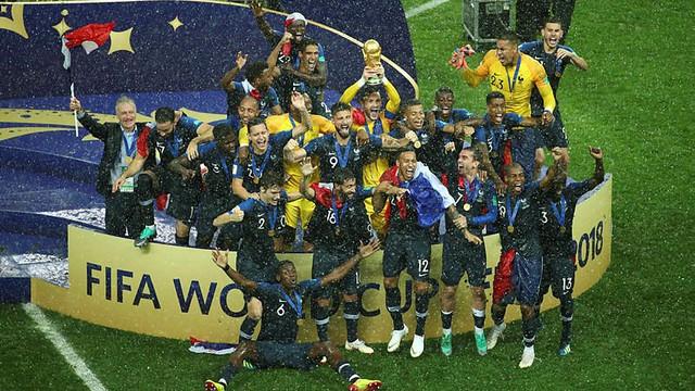 Dünya Kupası şampiyonu Fransa !