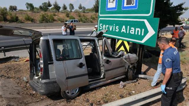Adana'da korkunç kaza: 3 ölü, 6 yaralı