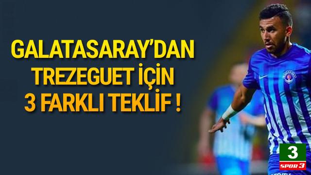 Galatasaray'dan Trezeguet için 3 farklı teklif !