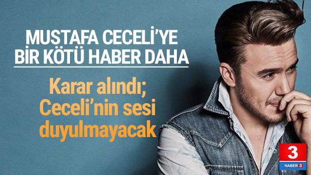 Radyolardan Mustafa Ceceli'ye ambargo kararı