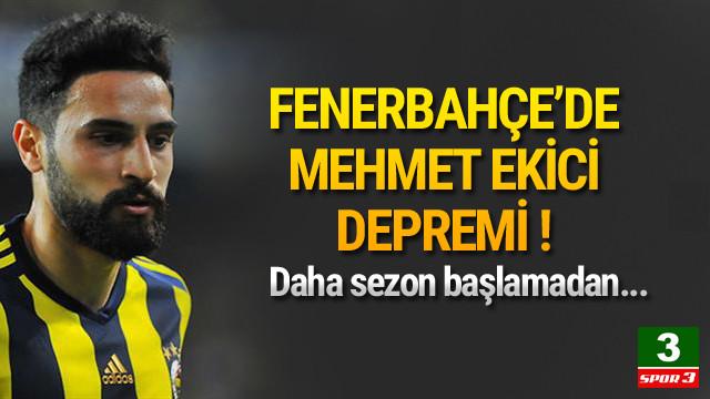 Fenerbahçe'de Mehmet Ekici şoku ! Sakatlandı...