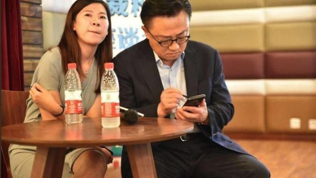 Samsung'un patronu farkında olmadan yeni modeli tanıttı