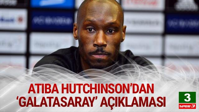 Atiba'dan Galatasaray açıklaması