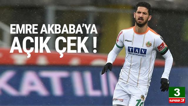 Emre Akbaba transferi için açık çek