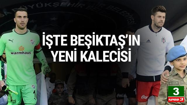 İşte Beşiktaş'ın yeni kalecisi
