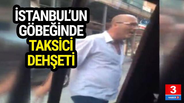 İstanbul'un ortasında sopalı tehdit !