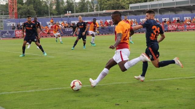 Galatasaray Valencia'ya boyun eğdi