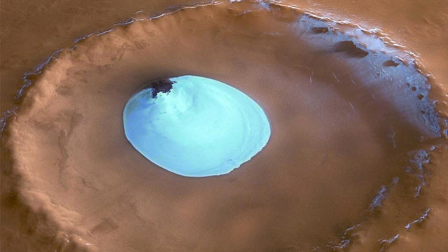 Defalarca konuşulmuştu... Mars'ta göl bulundu !