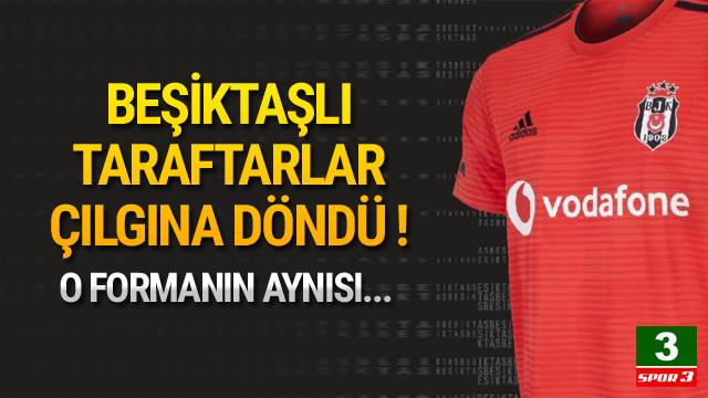 Beşiktaşlıları kızdıran 'kırmızı' forma !