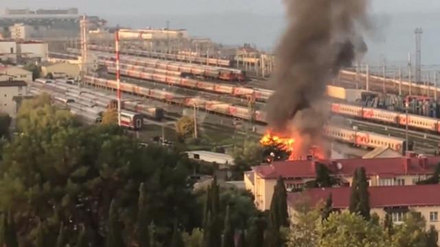 Rusya'da yangın faciası: 8 ölü