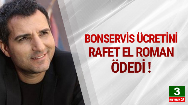 Trabzonspor'a Rafet El Roman'dan destek !