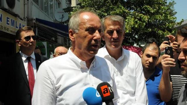 İnce'den Erdoğan'a: Elinde belge varsa açıkla