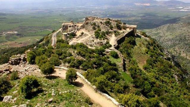 İsrail Golan tepelerine bomba yağdırdı