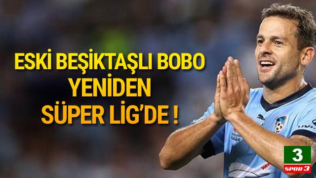 Brezilyalı Bobo Antalyaspor'da !