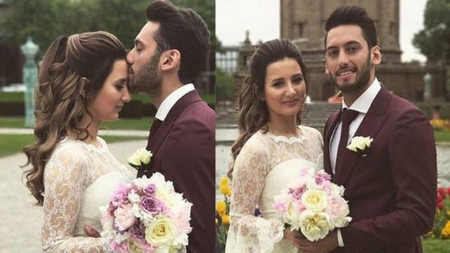 Hakan Çalhanoğlu ile eşi boşanıyor !