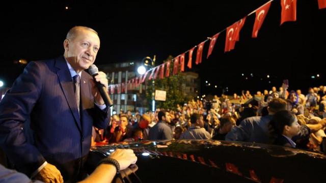 Erdoğan'dan dolar yorumu: ''Onların doları varsa bizim de Allah'ımız var'' ile ilgili görsel sonucu