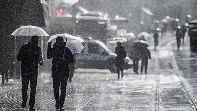 Meteoroloji'den 5 ilimiz için sağanak yağış uyarısı