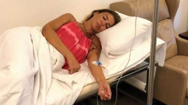 Gülben Ergen, hastaneye kaldırıldı