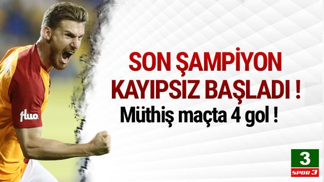 Galatasaray 3 puanla başladı !
