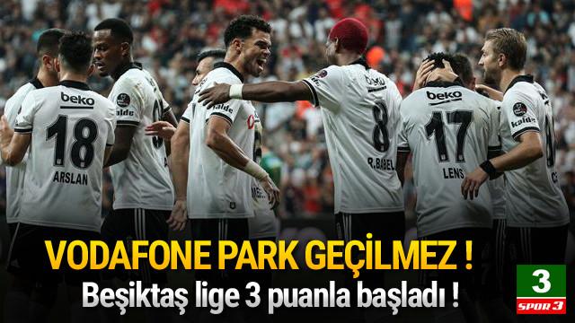 Beşiktaş - Akhisarspor Maç sonucu: 2-1