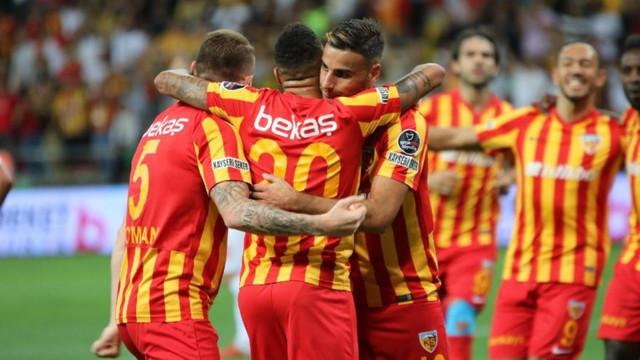 Kayserispor'dan 'Sağlam' galibiyet !