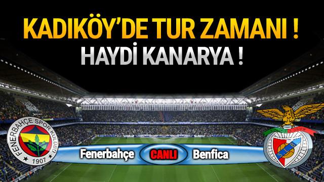 Fenerbahçe - Benfica / Maç devam ediyor
