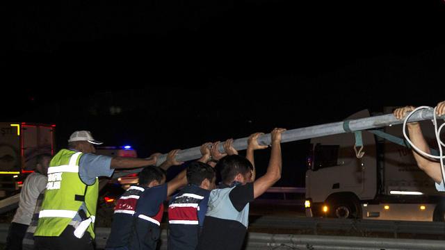 Ankara'da korku dolu anlar !
