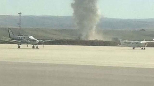 Esenboğa Havalimanı'nda korkutan yangın