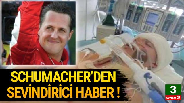 Schumacher'den sevindirici haber !